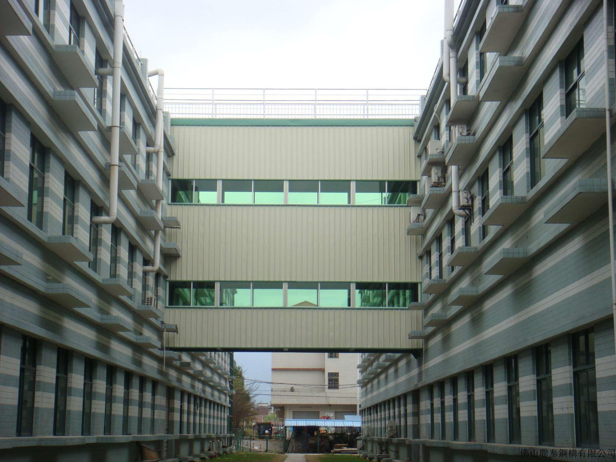 肇庆钢结构连廊工程
